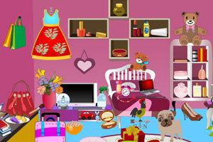房间里找东西小游戏_女生房间找东西,女生房间找东西小游戏,360小游戏