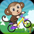 ABC丛林自行车历险-适合学龄前儿童、婴儿、英语教育游戏