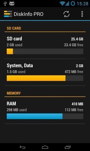存储信息ProAPP截图
