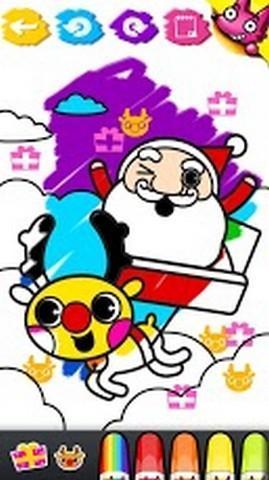 软件 儿童亲子 >哇圣诞节涂色