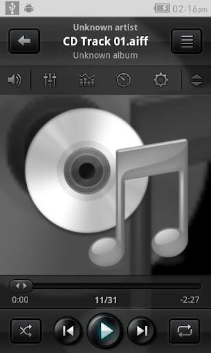 JetAudio播放器APP截图