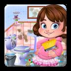 卫生间清洁女孩游戏