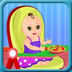 喂养和照顾婴儿游戏