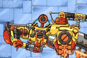 组装机械鹦嘴恐龙小游戏,组装机械鹦嘴恐龙在
