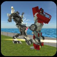 战机变形机器人2