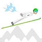 滑雪飞行爱好者