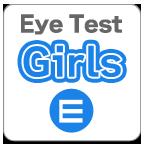 视力检验小姐