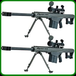 步枪巴雷特m82的枪